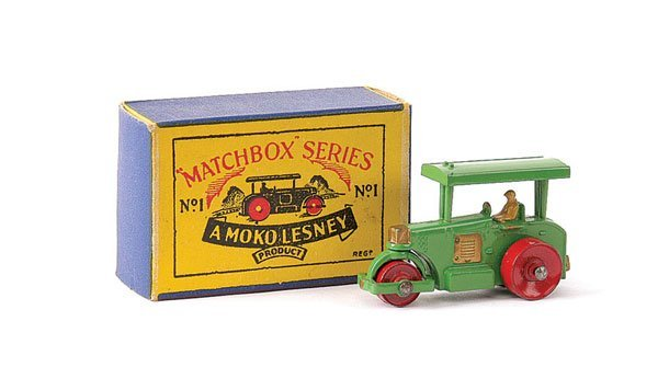 2: Matchbox No.1a Aveling Barford Road Roller
