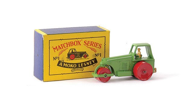 3: Matchbox No.1b Aveling Barford Road Roller