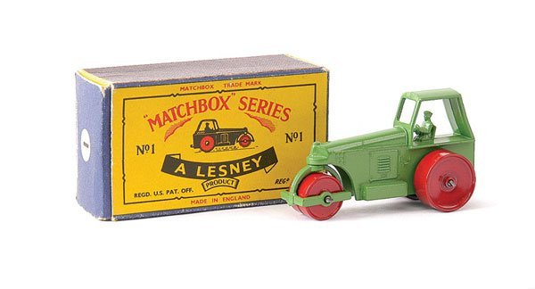 4: Matchbox No.1c Aveling Barford Road Roller