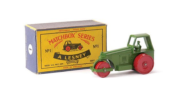 5: Matchbox No.1c Aveling Barford Road Roller