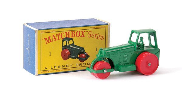 6: Matchbox No.1d Aveling Barford Road Roller