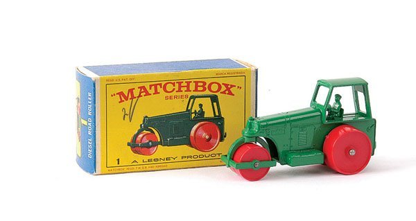 7: Matchbox No.1d Aveling Barford Road Roller