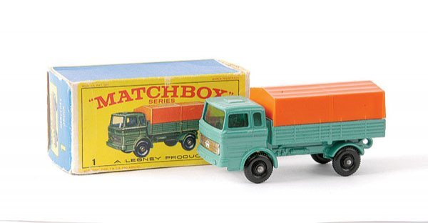 8: Matchbox No.1e Mercedes LP Covered Truck