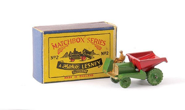 10: Matchbox No.2a Site Dumper