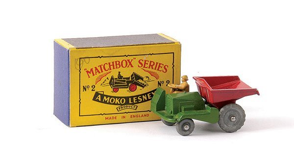 12: Matchbox No.2b Site Dumper