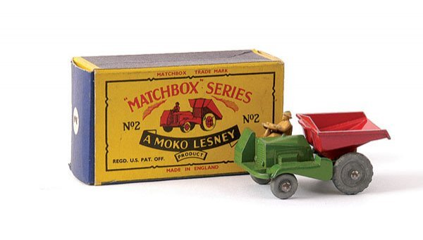13: Matchbox No.2b Site Dumper