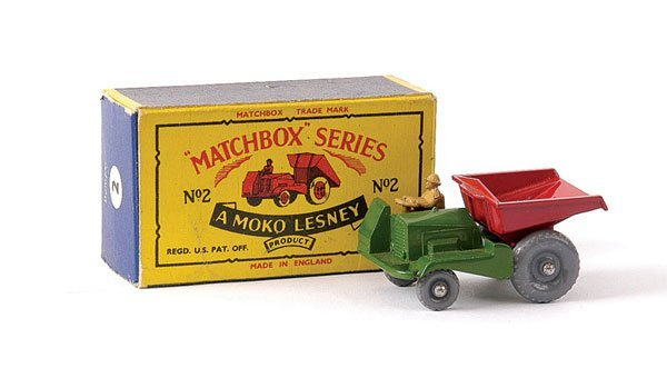 14: Matchbox No.2b Site Dumper