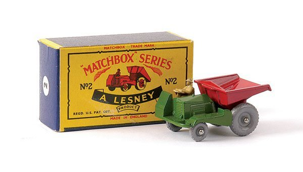 15: Matchbox No.2b Site Dumper