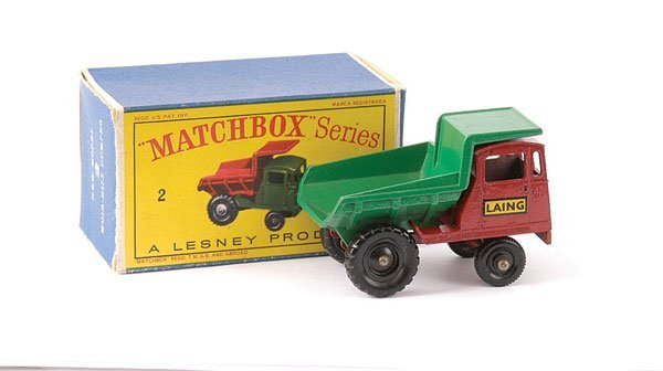 "16: Matchbox No.2c Muir Hill Site Dumper ""Laing"""