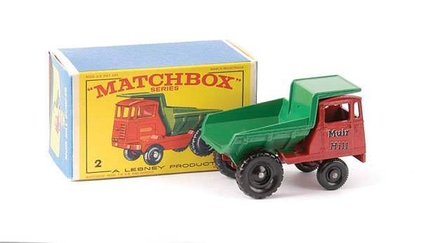 "17: Matchbox No.2c Muir Hill Site Dumper ""Muir Hill"""