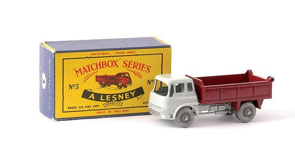 22: Matchbox No.3b Bedford TK Tipper
