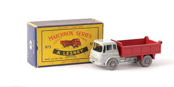 23: Matchbox No.3b Bedford TK Tipper