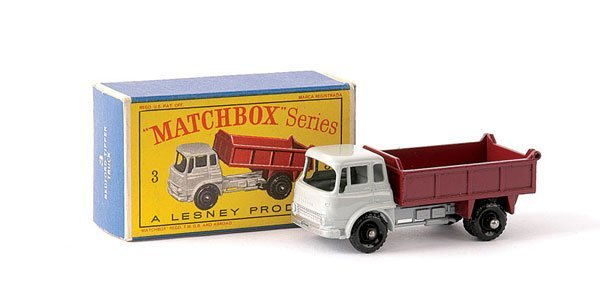 24: Matchbox No.3b Bedford TK Tipper