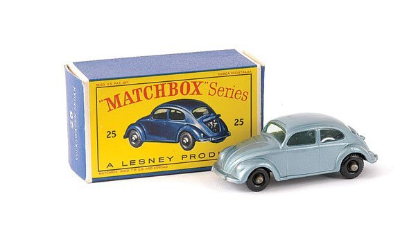 289: Matchbox No.25b VW Beetle