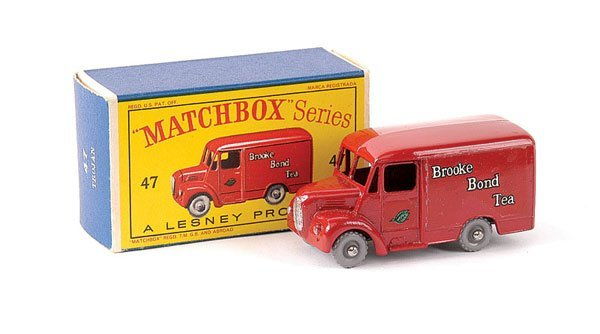 536: Matchbox No.47a Trojan Brooke Bond Tea Van