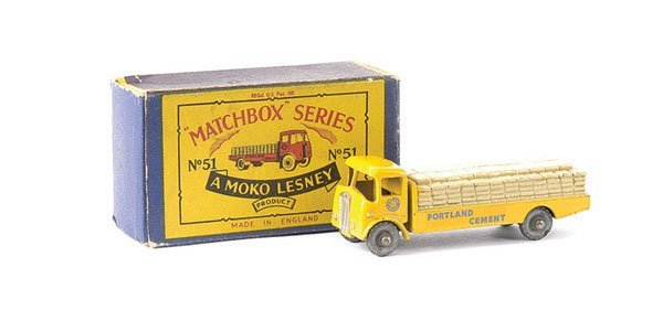 576: Matchbox No.51a Albion Chieftain Cement Truck