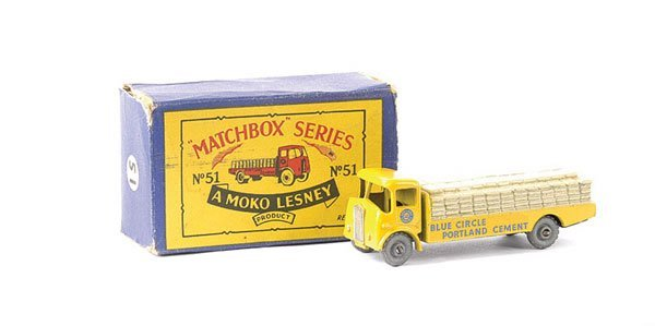 577: Matchbox No.51a Albion Chieftain Cement Truck