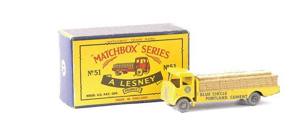 578: Matchbox No.51a Albion Chieftain Cement Truck