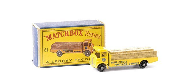 580: Matchbox No.51a Albion Chieftain Cement Truck