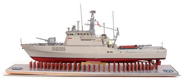 """4001: Handbuilt Danish Navel Vessel """"Flyvefisken"""""""