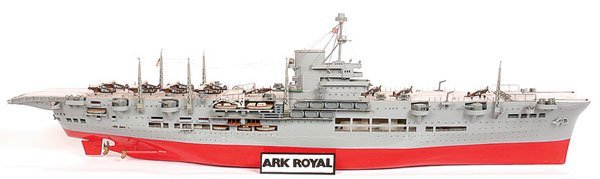 4002: Handbuilt Scale Model of HMS Ark Royal