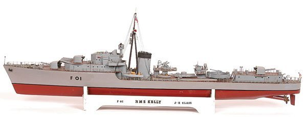 "4004: J & K Class Wartime Destroyer HMS ""Kelly"" F01"