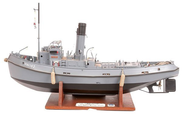 4005: Royal Navy TID Tug (Tug Inward & Docks