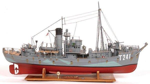 """4006: Naval Trawler """"HMT Sir Kay"""""""