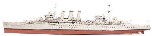 """4009: Kent Class Cruiser HMS """"Cumberland"""""""
