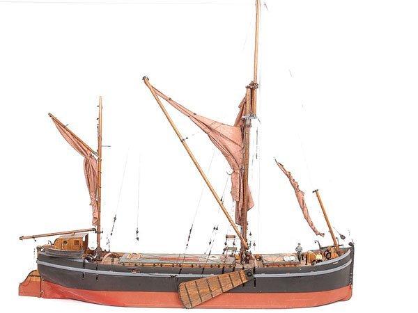 """4011: Coastal Barge """"Hibernia"""""""