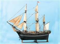 4033: Early Three Masted British Naval Ship