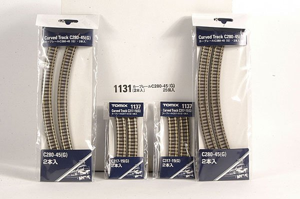 4678: Tomix N Gauge Straight and Curved Track