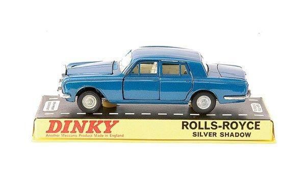 2019: Dinky No.158 Rolls Royce Silver Shadow