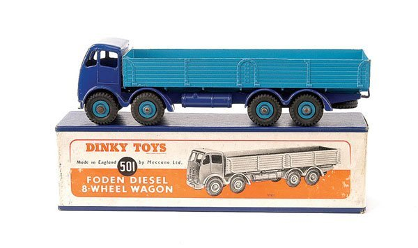 2228: Dinky No.501 Foden 8-wheeled Wagon