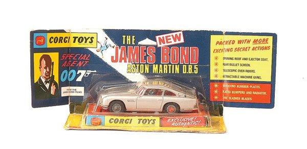 "3009: Corgi No.270 ""James Bond"" Aston Martin DB5"