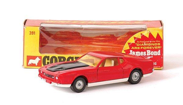 "3013: Corgi No.391 ""James Bond"" Ford Mustang Mach 1"