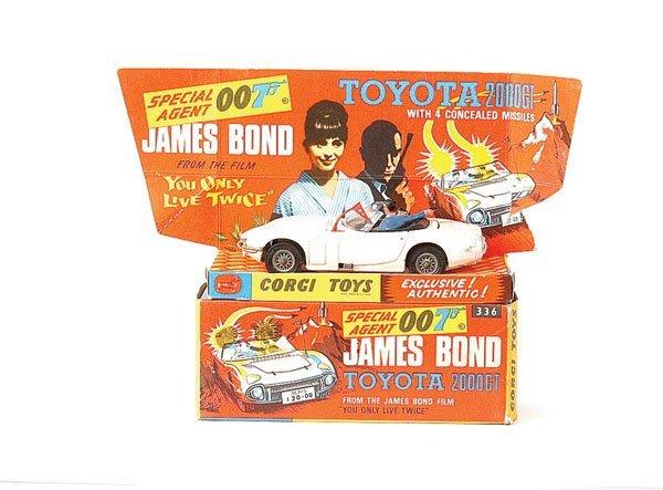 """3022: Corgi No.336 """"James Bond"""" Toyota 2000GT"""