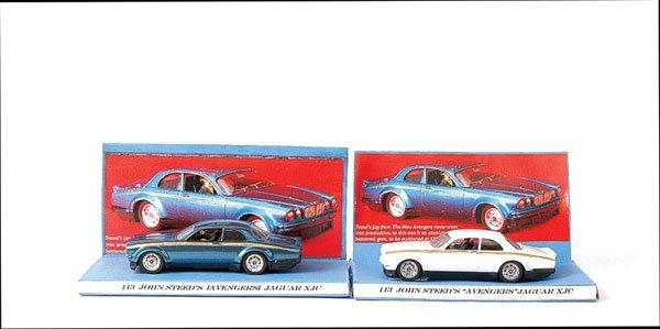 "3164: Dinky No.113 ""The Avengers"" Steeds Jaguar"