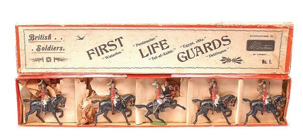 1: Britains Set 1-First Life Guards-1897 version