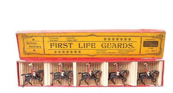 2: Britains-Set 1-First Life Guards-1902 version