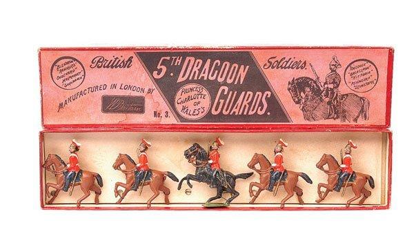 8: Britains-Set 3-5th Dragoon Guards-1894 version