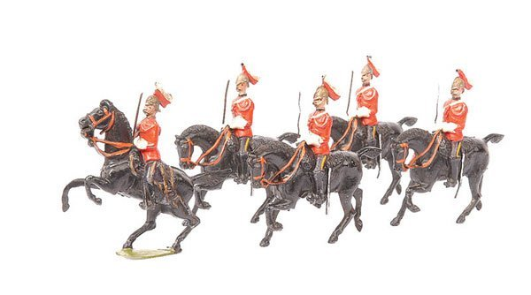 9: Britains-Set 3-5th Dragoon Guards-1897 version