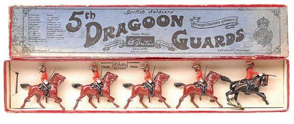 11: Britains-Set 3-5th Dragoon Guards-1923 version