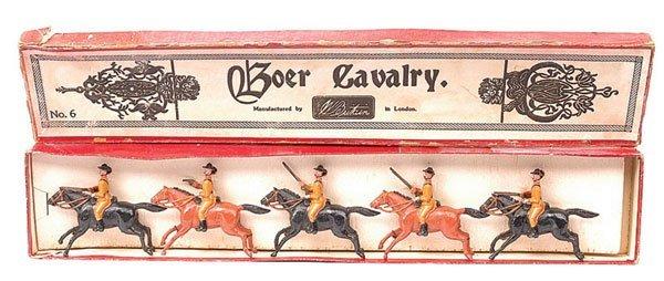 12: Britains-Set 6-Boer Cavalry-1899 version