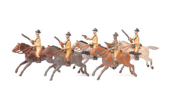 13: Britains - Set 6 - Boer Cavalry - 1899 version