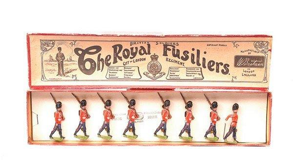 14: Britains-Set 7-Royal Fusiliers-1908 version