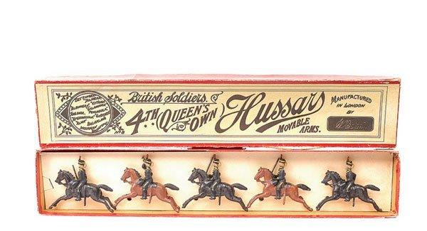 15: Britains-Set 8-4th Q.O Hussars-1896 version