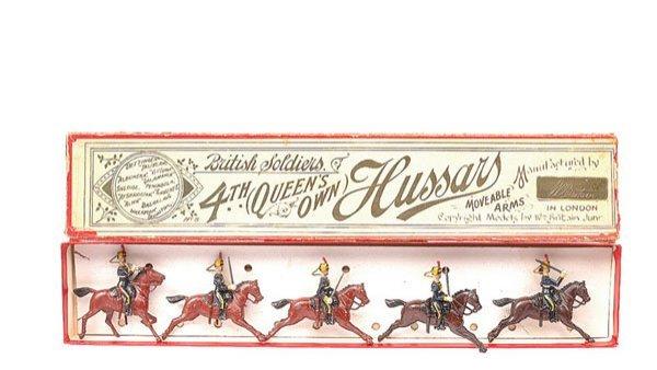 16: Britains-Set 8-4th Q.O Hussars-1901 version