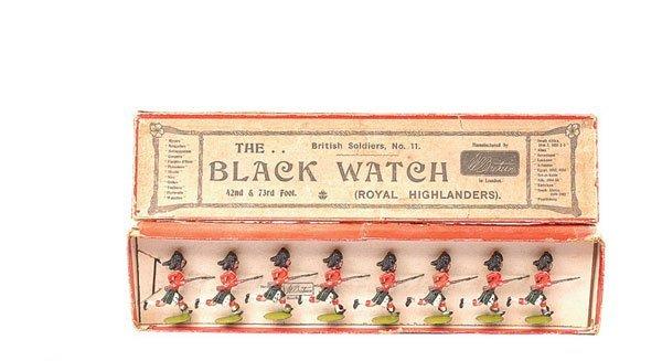 19: Britains-Set II-The Black Watch-1904 version