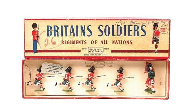 22: Britains-Set II-The Black Watch-1958 version